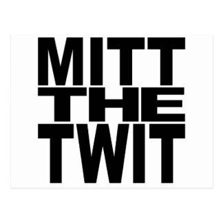 Mitt The Twit Postcard