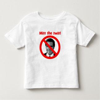 Mitt the twit toddler t-shirt