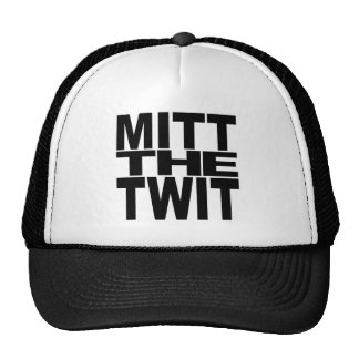 Mitt The Twit Trucker Hat