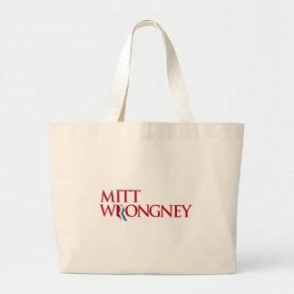 Mitt Wrongney Canvas Bags