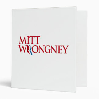 Mitt Wrongney Binder