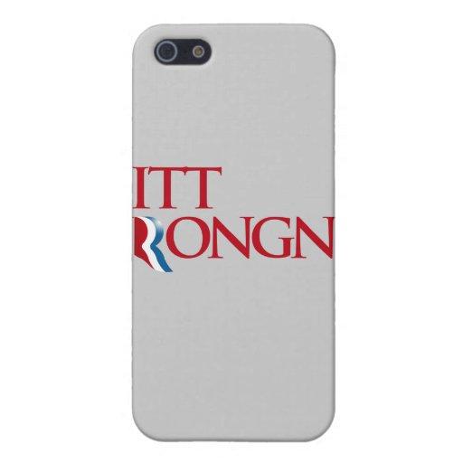 Mitt Wrongney Case For iPhone 5