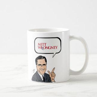 Mitt Wrongney Coffee Mugs