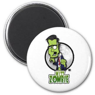 Mitt Zombie 2 Inch Round Magnet