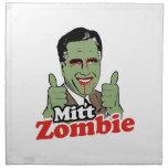 Mitt Zombie Cloth Napkins