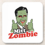 Mitt Zombie Drink Coaster