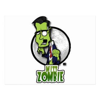 Mitt Zombie Post Cards