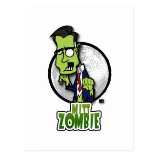 Mitt Zombie Postcard