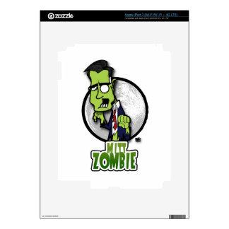 Mitt Zombie Skins For iPad 3