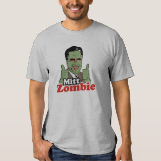 Mitt Zombie Tee Shirt