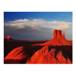 Mitten Butte in Monument Valley Postcard