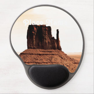 Mitten Butte in Monument Valley, Utah Gel Mouse Pad