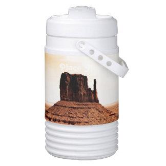 Mitten Butte in Monument Valley, Utah Igloo Beverage Cooler