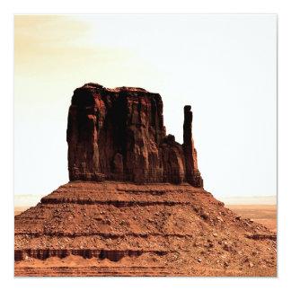 Mitten Butte in Monument Valley, Utah Invitation