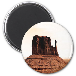 Mitten Butte in Monument Valley, Utah Magnets