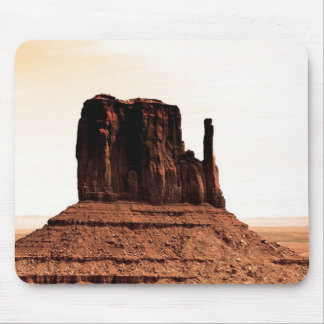 Mitten Butte in Monument Valley, Utah Mouse Pad