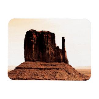 Mitten Butte in Monument Valley, Utah Vinyl Magnets