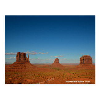Mitten Buttes and Merrick Butte in Monument Valley Postcard