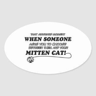 Mitten Cat Designs Sticker
