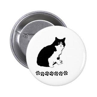 Mitten Kitten Pinback Button