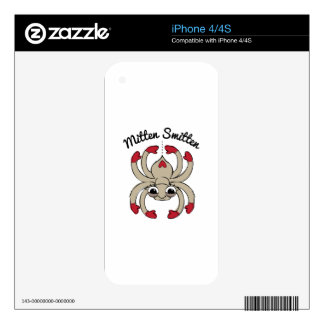 Mitten Smitten Skins For The iPhone 4S