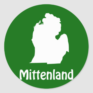 Mittenland Classic Round Sticker