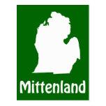 Mittenland Postcard