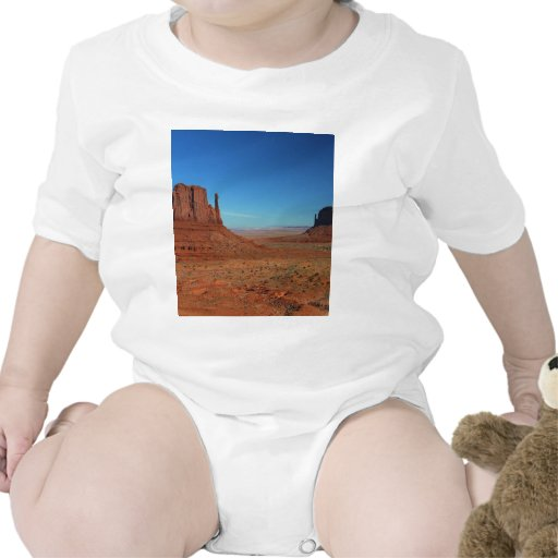 Mittens At Monument Valley Baby Bodysuit