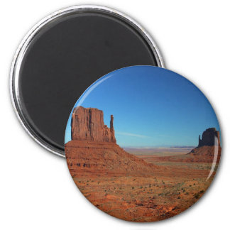 Mittens At Monument Valley Magnet