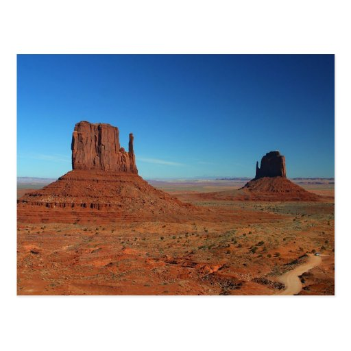 Mittens At Monument Valley Postcard