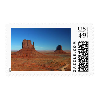 Mittens At Monument Valley Stamp