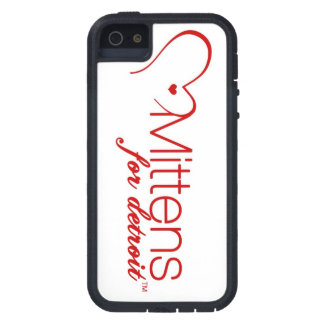 Mittens for Detroit iPhone 5/5S, Tough Xtreme Case iPhone 5 Cases