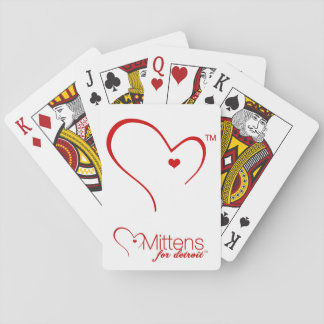 Mittens for Detroit Playing Cards