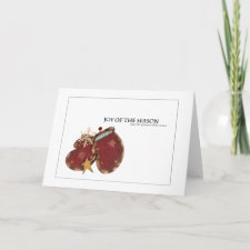 mittens holiday card card