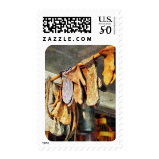 Mittens in General Store Postage