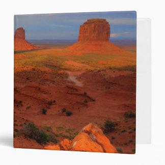 Mittens, Monument valley, AZ 3 Ring Binder