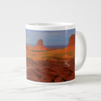 Mittens, Monument valley, AZ Large Coffee Mug