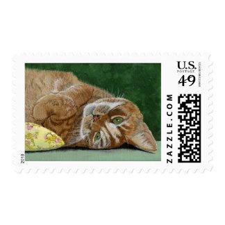 Mittens Stamp