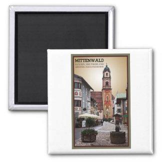 Mittenwald - iglesia de San Pedro y de Paul Iman De Frigorífico