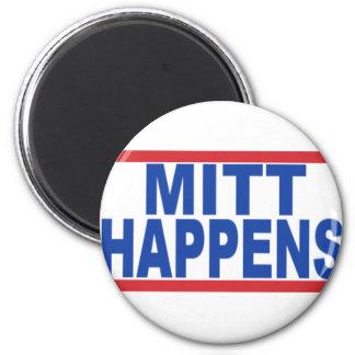 MittHappens 2 Inch Round Magnet