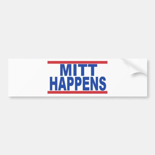 MittHappens Bumper Sticker