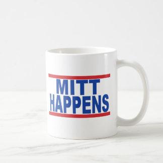 MittHappens Classic White Coffee Mug