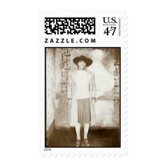 MITTIE CIRCA 1913 STAMP