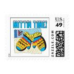 Mittin Time Postage Stamps
