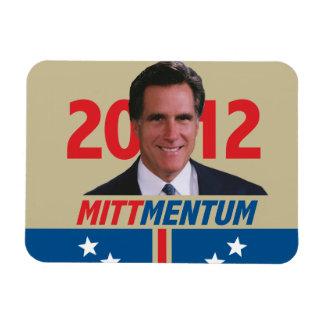 Mittmentum Mitt Romney 2012 Rectangular Photo Magnet
