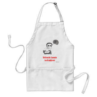 Mitt's Daily Diet Adult Apron