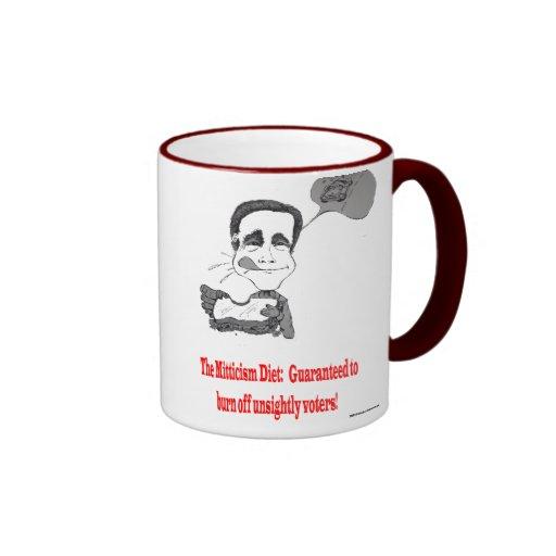 Mitt's Daily Diet Ringer Coffee Mug