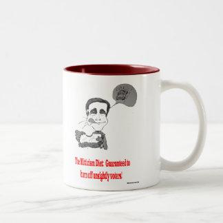 Mitt's Daily Diet Two-Tone Coffee Mug