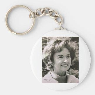 Mitt's Mom Lenore Romney Keychain