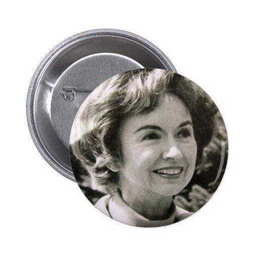 Mitt's Mom Lenore Romney Pinback Buttons